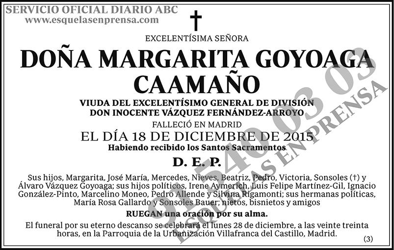 Margarita Goyoaga Caamaño